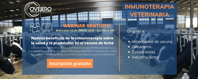 Webinar inmunoterapia veterinaria